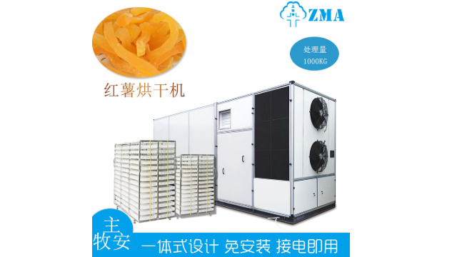 曾经其貌不扬如今身价翻番,空气能红薯烘干机发生了什么?