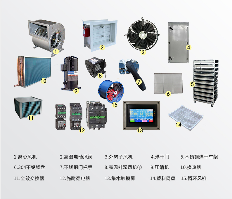 烘干机设备配件